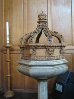 Font and cover from St. Matthew Friday Street