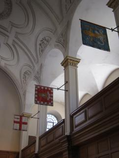 The City of London, The Worshipful Company of Mercers, and The Worshipful Society of Apothecaries are represented here