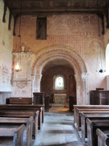 Nave of St. Mary Kempley