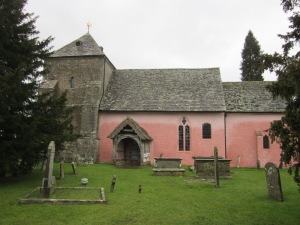 Exterior. St Mary Kempley